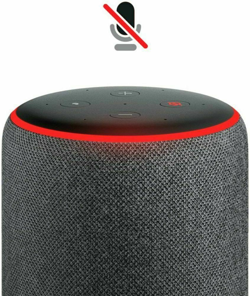 Amazon 3rd Smart Speaker Alexa Charcoal Blue RED NEW SEALED
