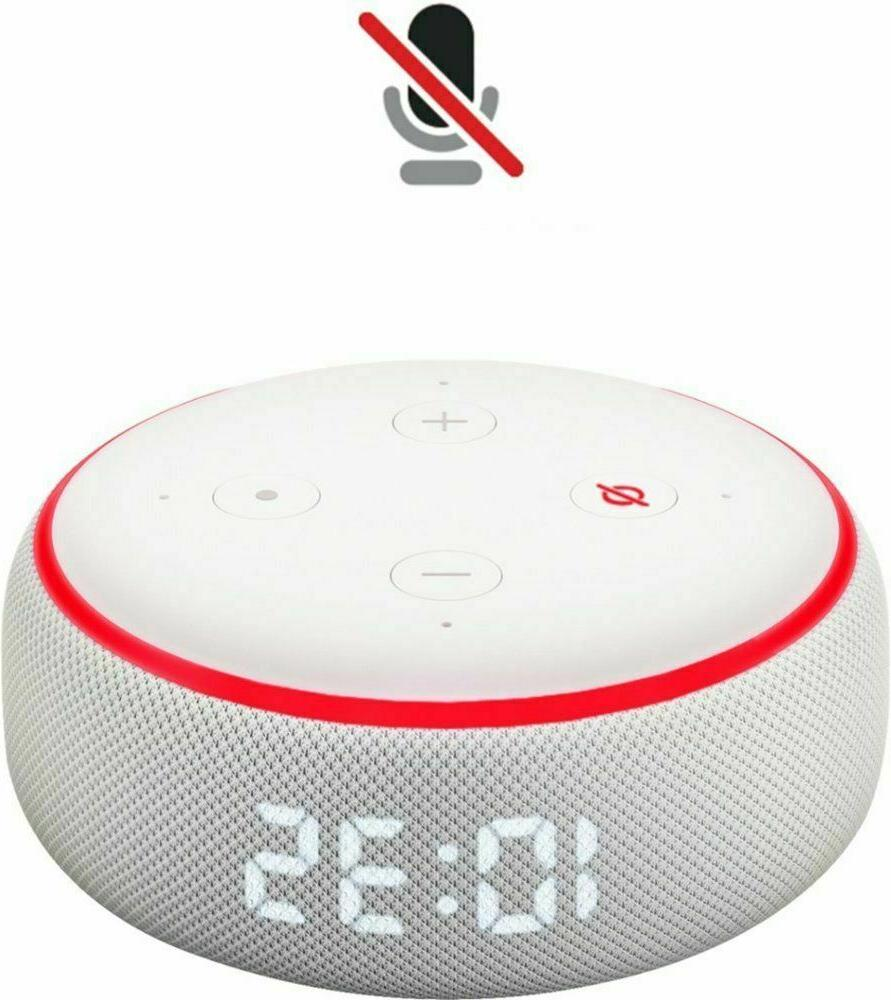 Amazon Echo Dot Gen Clock Sandstone Sealed