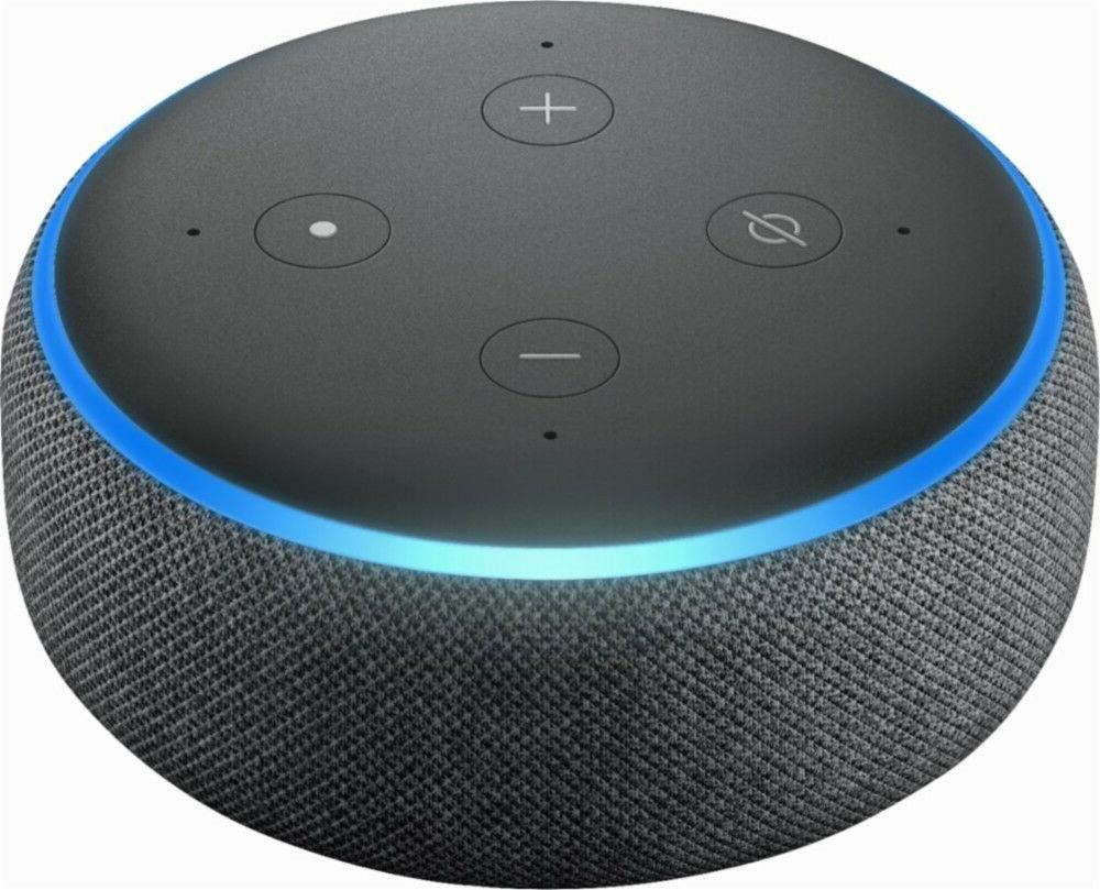 @Amazon Echo 3rd Generation w/ Alexa Media Device -