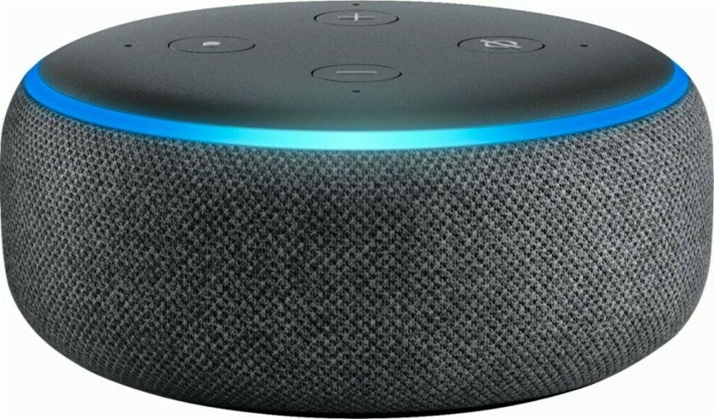 echo dot 3rd generation w alexa voice