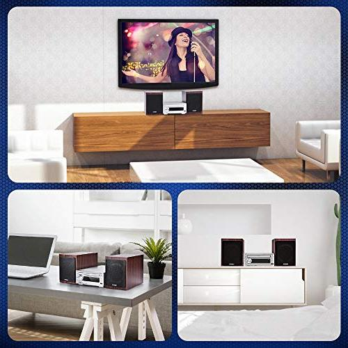 neon Stereo with CD Stereo Player with Bluetooth USB Function, with Control, for Home System,