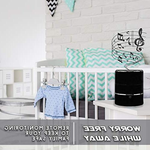 SPYCOON Spy Camera Speaker, with Mini Bluetooth Stereo, Video, Panoramic WiFi Motion Office, or