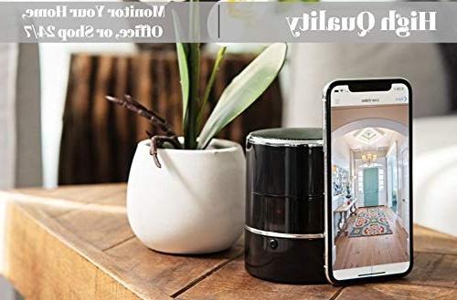 SPYCOON Hidden Spy Camera Speaker, Mini Wireless Video, Motion Detection