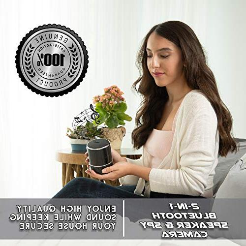 SPYCOON Speaker, with Bluetooth Video, 180 Panoramic WiFi Motion Home, Office,