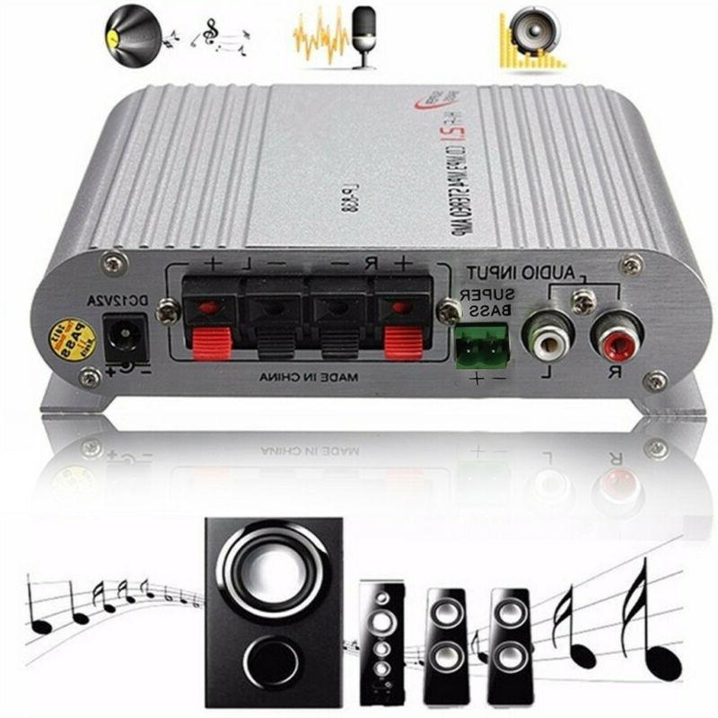 12V/200W Hifi CD MP3 Radio Car Home Audio Stereo Bass Speake