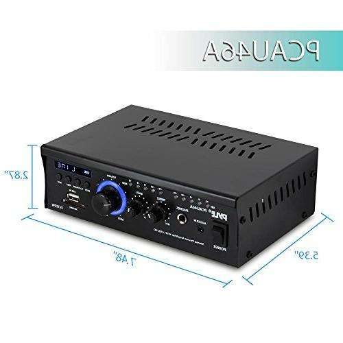 Home System - Channel Receiver Box, w/ USB, LED, - -