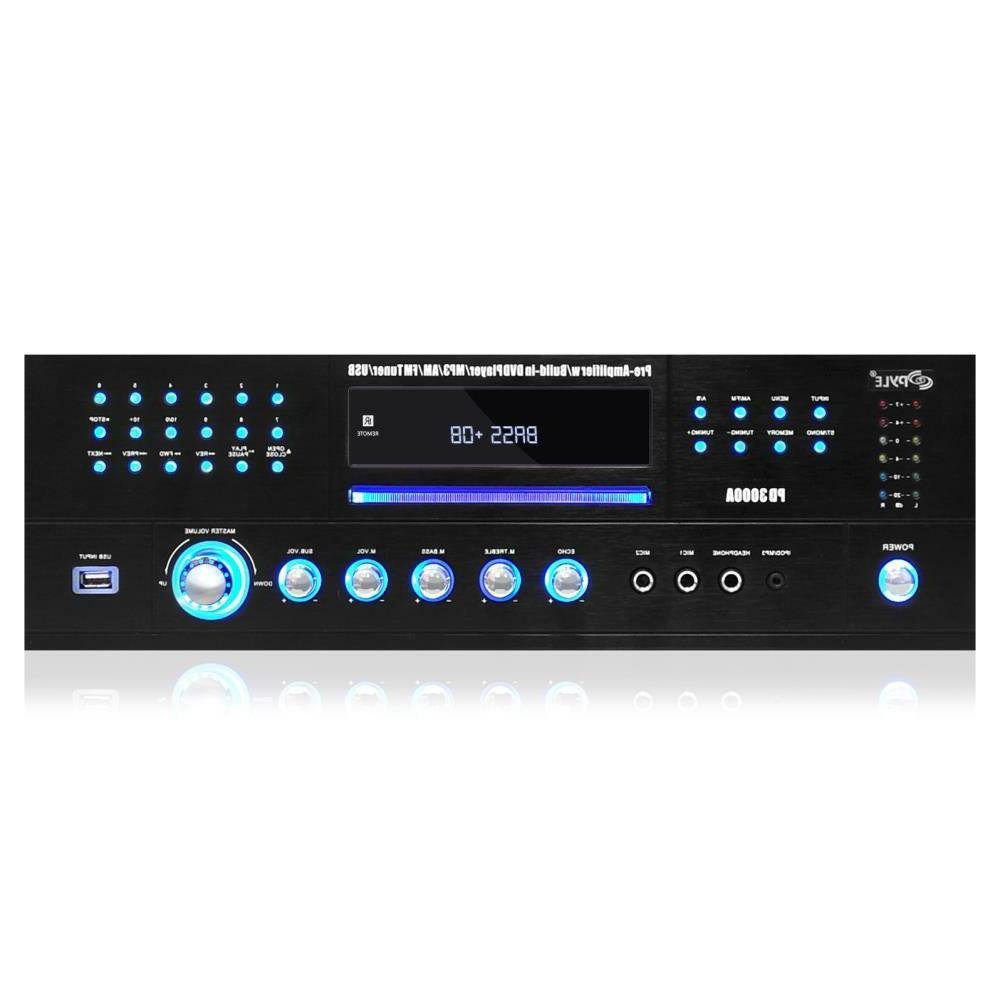 HOME PRO WATT STEREO RECEIVER MP3 USB NEW