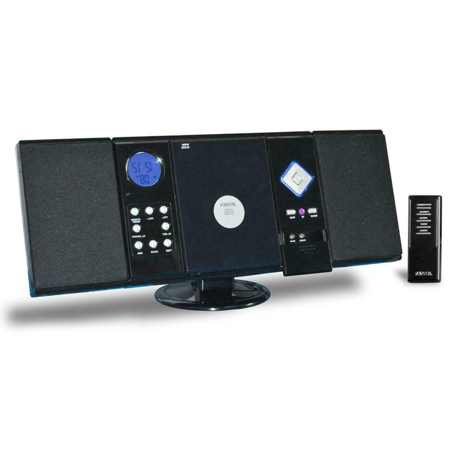 JENSEN STEREO CD PLAYER SYSTEM REMOTE WALL MOUNTABLE