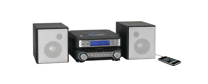 Home Stereo System CD Player Auxillary Input