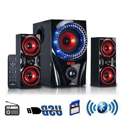 Home Theater Stereo Audio System 2.1 Channel Entertainment U