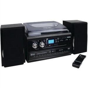 JENSEN JTA-980 3-SPEED 2-CD SYSTEM &