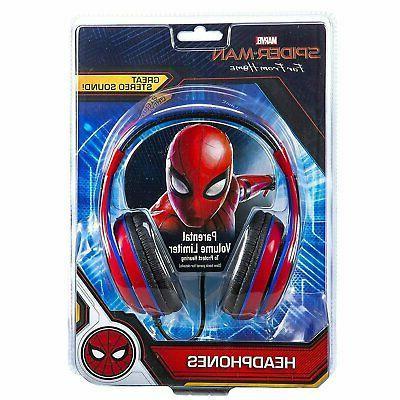 Kids Spiderman Home Volume Control Adjustable