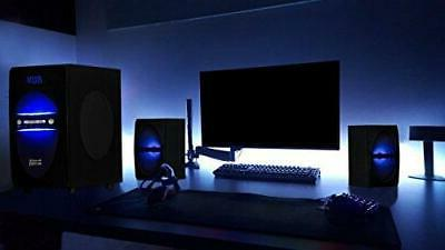 Acoustic Audio LED 2.1-Channel Home Theater System
