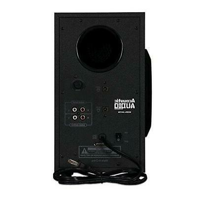 Acoustic LED 2.1-Channel Home Theater Stereo System