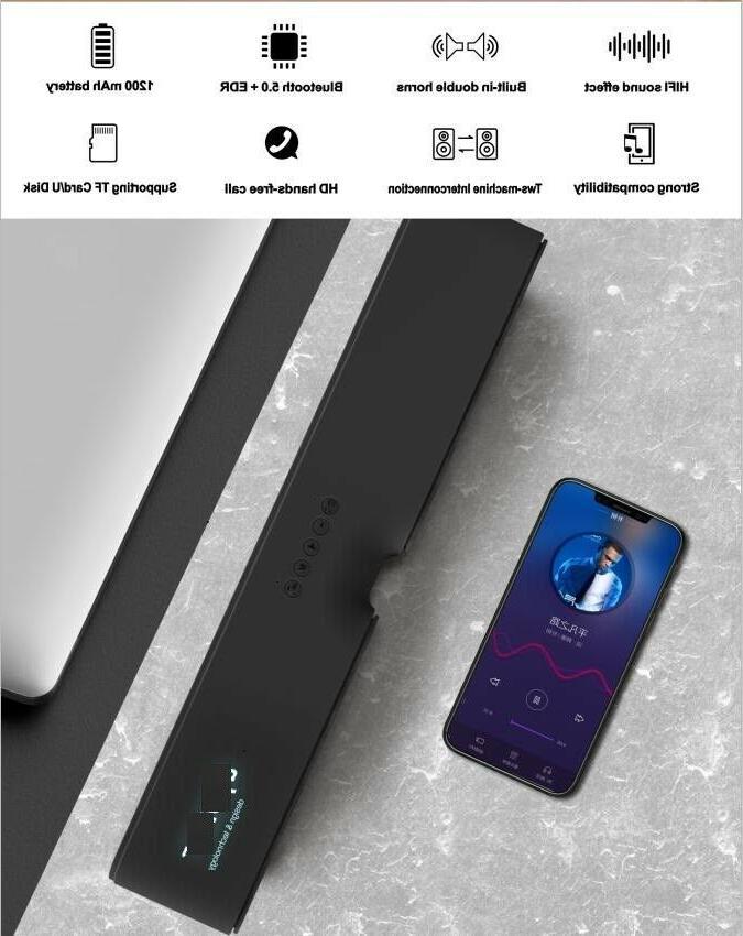 Bluetooth Wireless Outdoor Bass Home