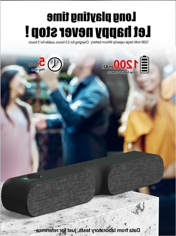 Bluetooth Outdoor Bass Bar TV Home