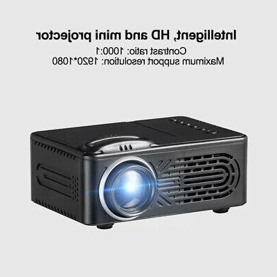 led stereo portable usb hd projector home