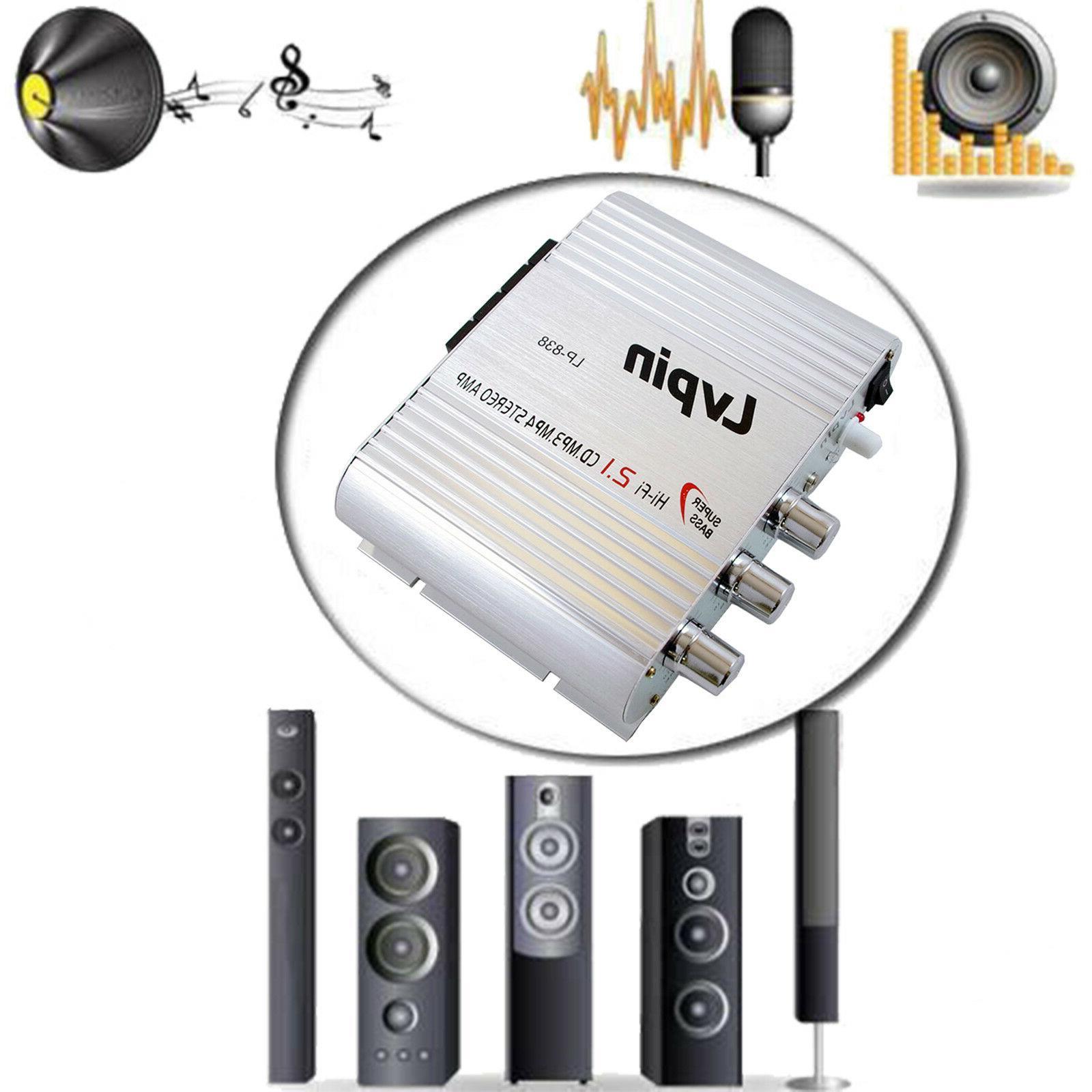 Lvpin Mini Amplifier Stereo Audio 200W &
