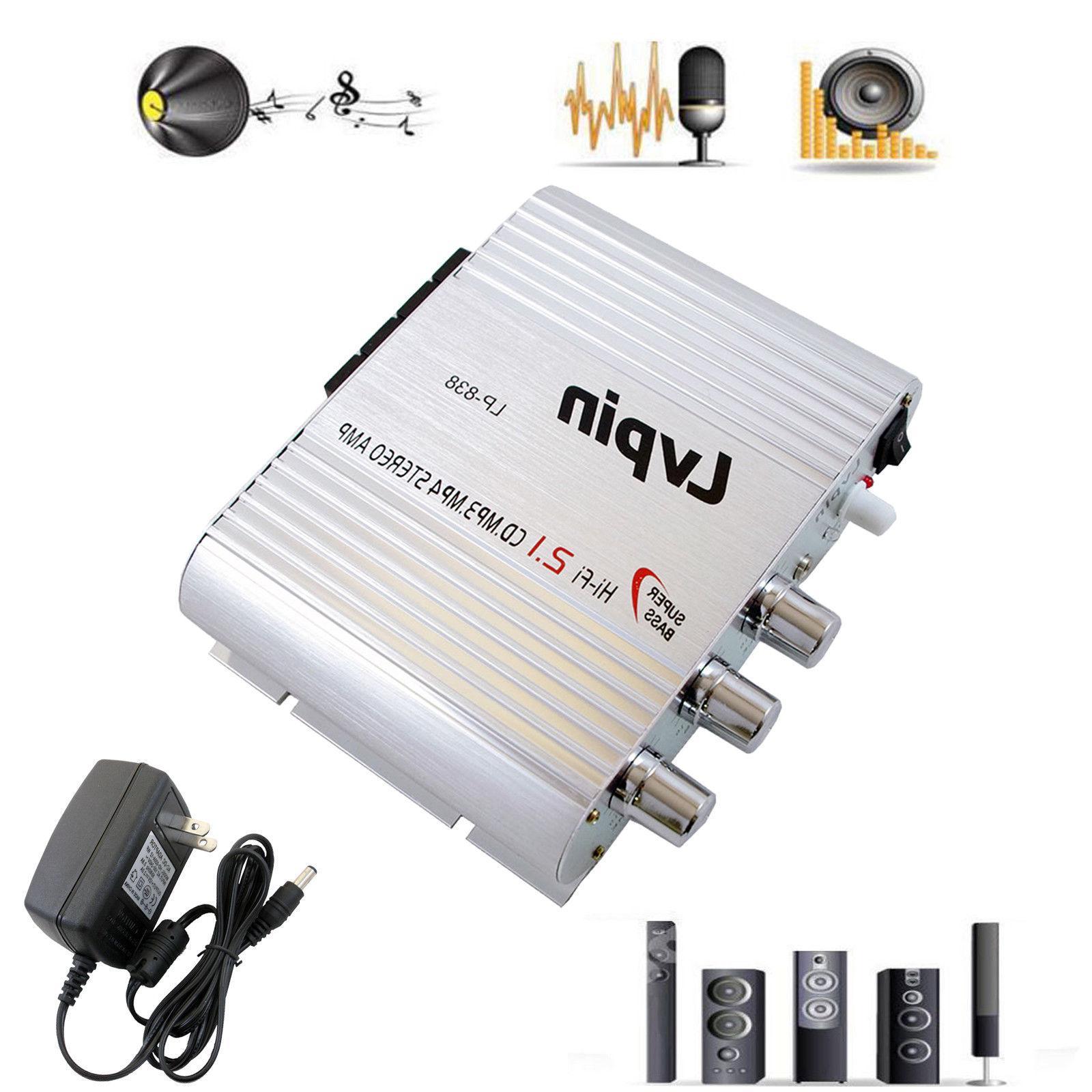 Lvpin Amplifier Amp Stereo 12V & AC