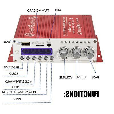 Digital Stereo Audio AMP Player
