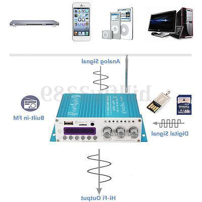 Digital Mini Bluetooth Stereo Audio For Car Player