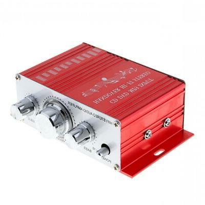 Mini Hi-Fi Amplifier AMP Home Radio MP3 12V 2CH