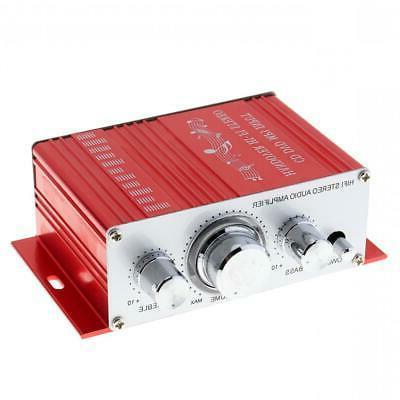 Mini Hi-Fi Amplifier Home Motorcycle Radio 12V