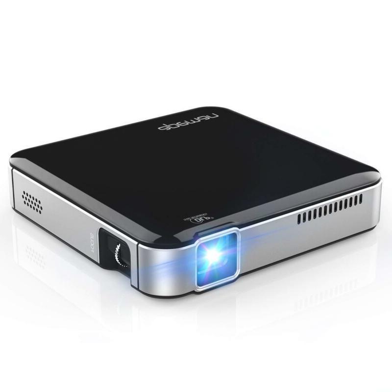 Mini Portable Projector DLP Home Cnema HD Support 1080P Stereo