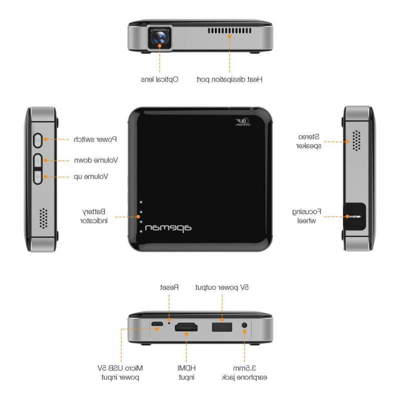 Mini Portable HD Stereo