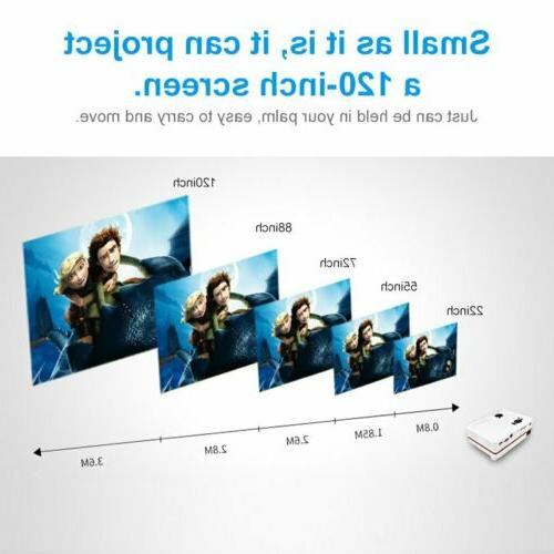 Portable Projector 1080P HDMI