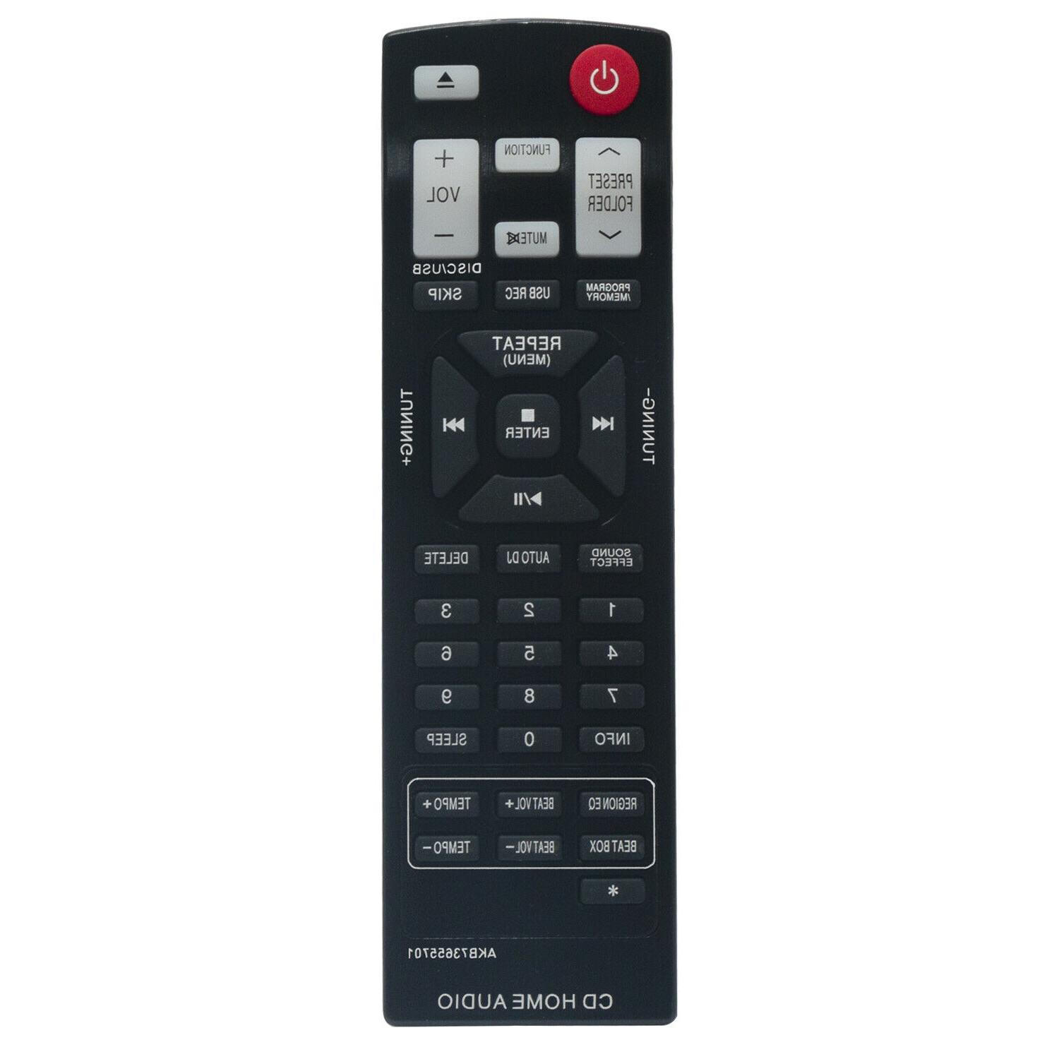 new akb73655701 replace remote for lg cd