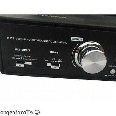 NEW HOME STEREO / RADIO 3-SPEED PLAYER TURNTABLE
