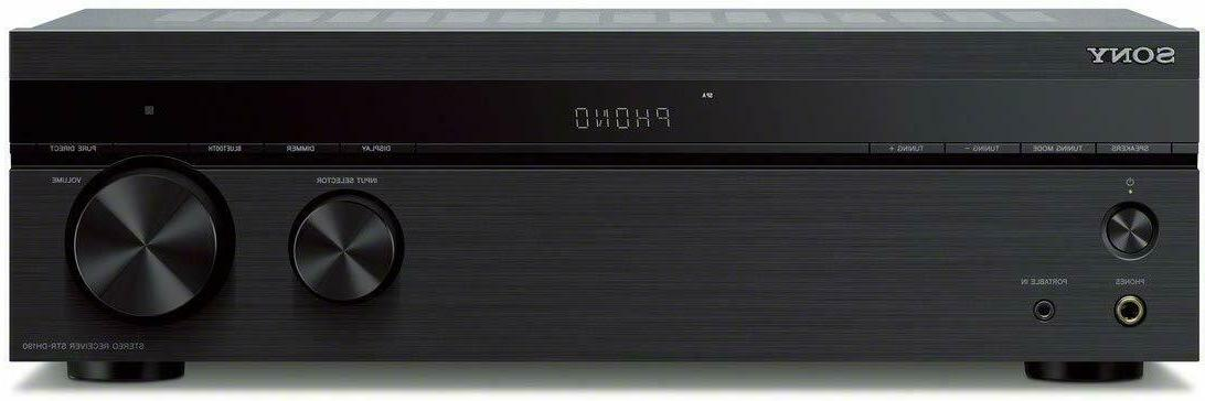 New Sony Bluetooth 4-Channel Home Stereo Receiver Amp Amplif