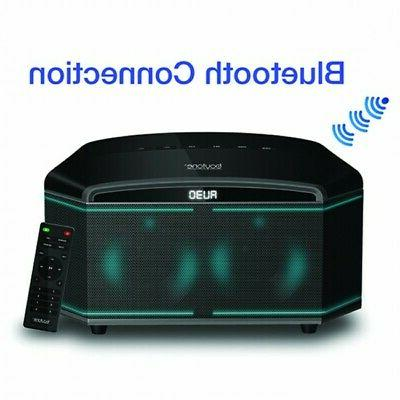 New Boytone BT-64B, 100-Watts  Bluetooth Home Stereo,100 WAT