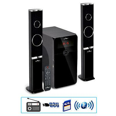 new home stereo bluetooth 2 1 channel