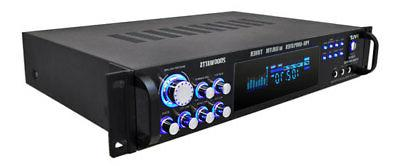 Pyle P2001AT 2000W Stereo AUX MIC-In &