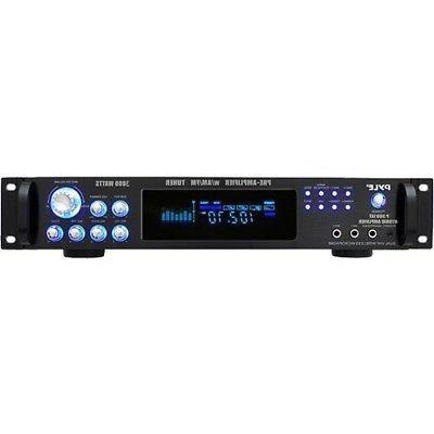 Pyle P3001AT 3,000 Watt Hybrid Home Stereo Receiver Amplifie