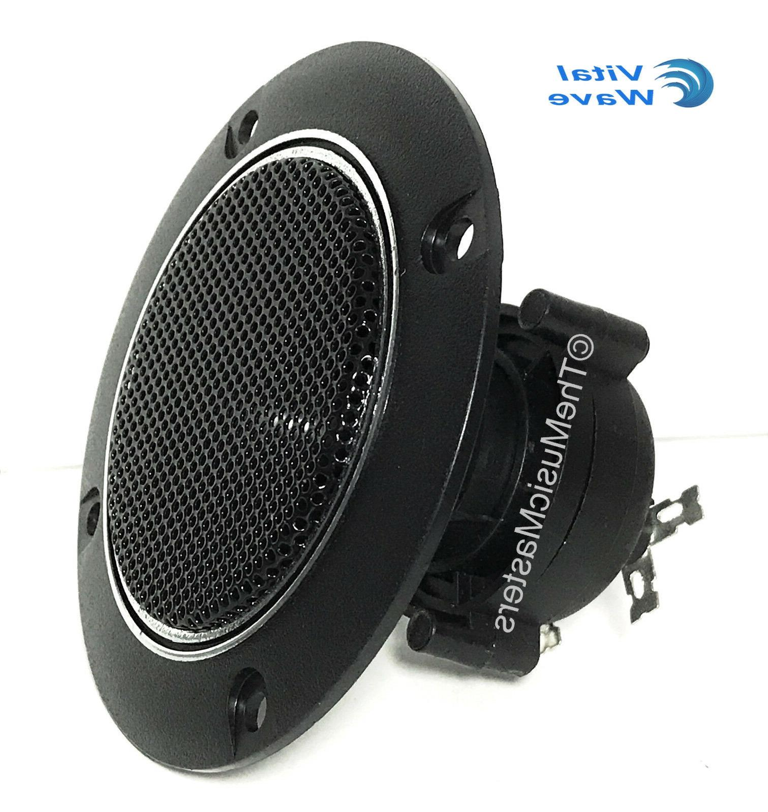 """Pair 4"""" Mount Round TWEETER Home Stereo"""