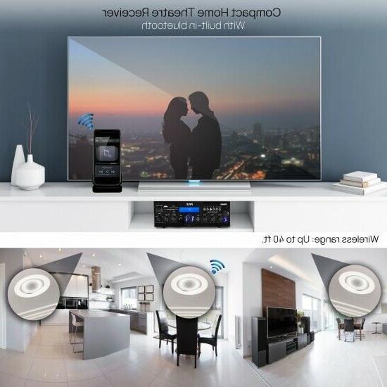 Pyle Home Stereo Amplifier-Multi-Channel Watt Powe