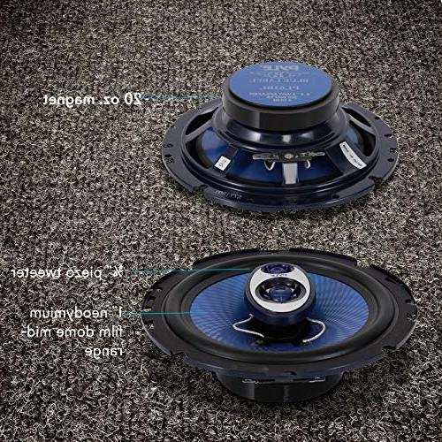 Sound - Round Shaped Full Range 360 w/ 4 and for Car Component PL63BL