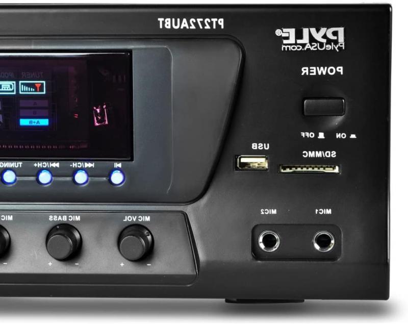 Pyle Watt Stereo Receiver AM-FM