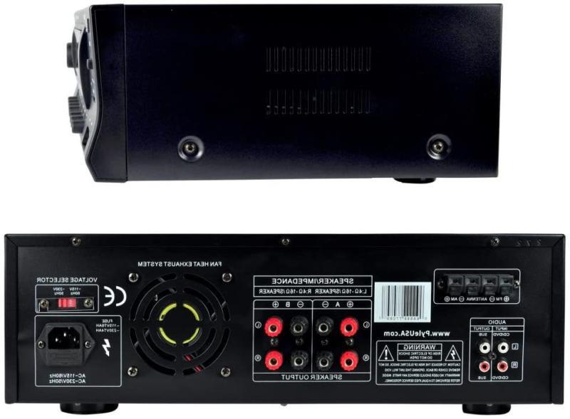 Pyle PT272AUBT Stereo USB/SD,Bluetooth AM-FM Tuner