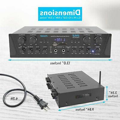Pyle Home Audio Watt Channel Amplifier