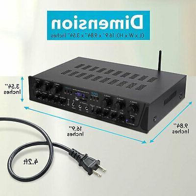 Pyle Bluetooth Audio 600 Channel Amplifier