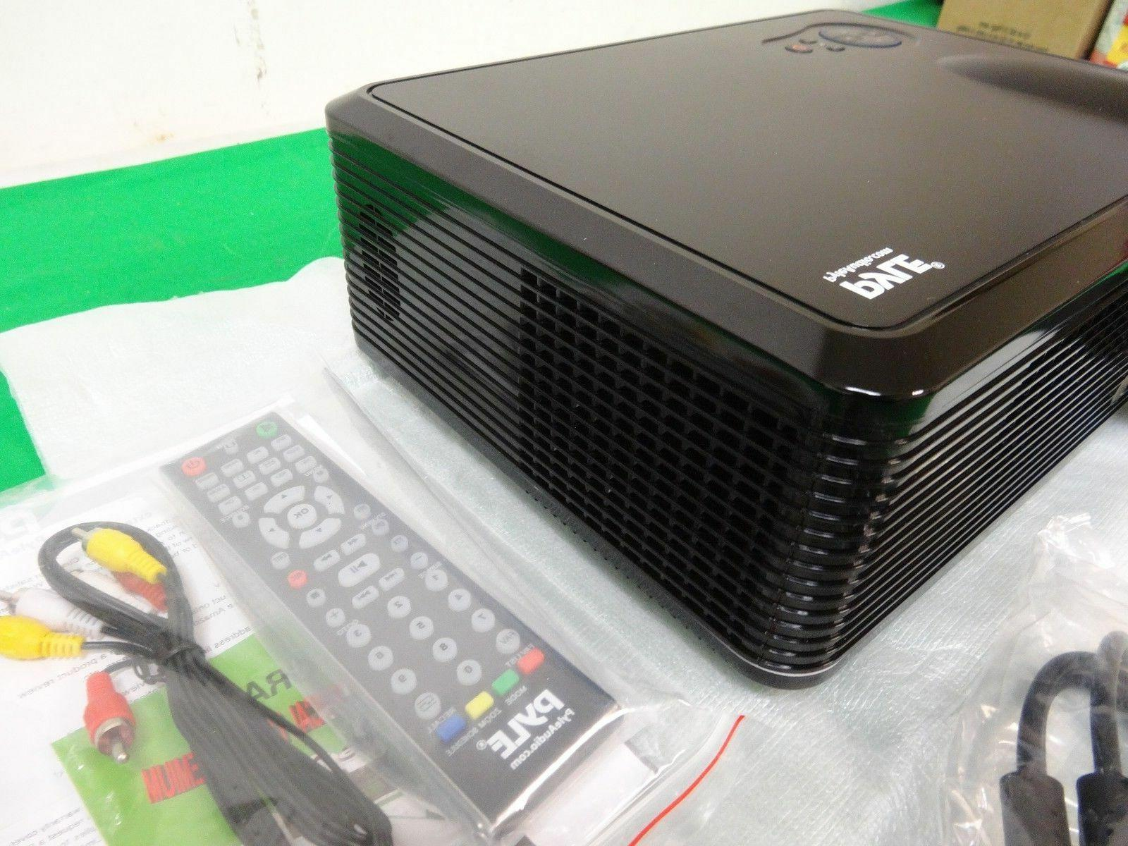 Pyle LED Projector Home Stereo Speakers 2 -*Z2*