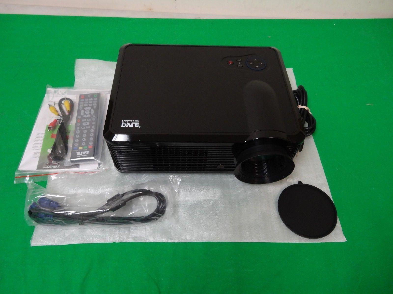 pyle lcd led video projector home theater