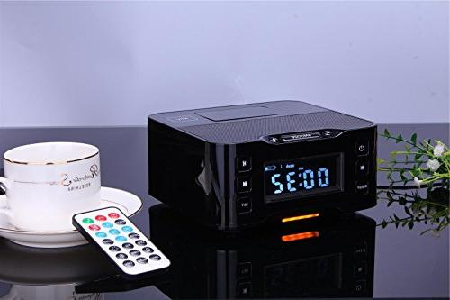 radio alarm clock bluetooth docking