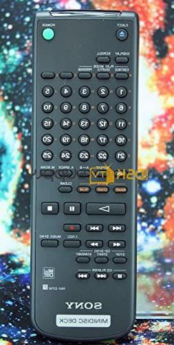 Original Sony RM-D7M Minidisc Deck Stereo Remote Control Sup
