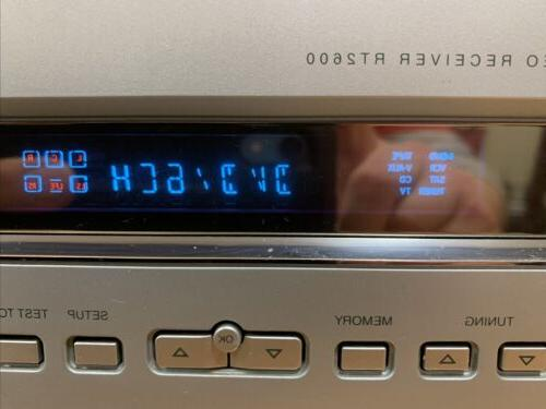 RCA Silver Theater Stereo Receiver 5.1 Dolby Free Shipping