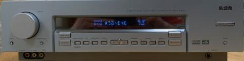 rt2600 silver home theater stereo receiver 650watts